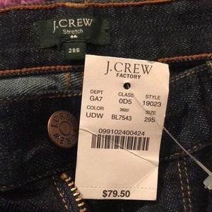 J. Crew Jeans - J Crew Jeans NWT Size 29S